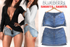 Blueberry - Felicity - Shorts & Skirts - Blue