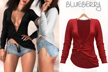Blueberry - Felicity - Tops - Red