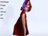 ~PP~ Jessica Rabbit - Real Sequins Costume