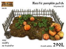 Rustic pumpkin patch - Old World  - Rustic / Medieval