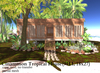 Cinnamon Tropical House(91LI, 18x27)