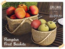 Hampton Fruit Basket ♥ CHEZ MOI