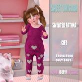 ::Sweet Unicorn:: Sweater Fatima ~TD BABY~