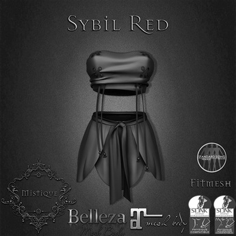 **Mistique** Sybil Demo (wear me and click to unpack)