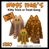Miss Ing's Kitty Trick or Treat Gang Boxed