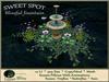 Blissful Fountain SWEET SPOT - Small Accent Garden
