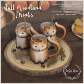 {what next} Fall Woodland Drinks (boxed)