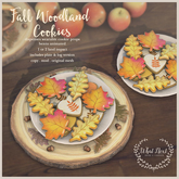 {what next} Fall Woodland Cookies