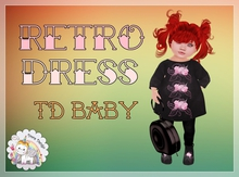 {D:D} Retro Dress /TD baby