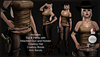 [DB] Gunslinger Girl Brown Complete Outfit- Maitreya, Belleza, Slink, TMP