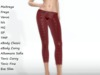 ~PP~ Blood Red Sequin Tights