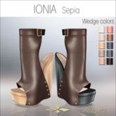 Amacci Shoes - Ionia - Sepia