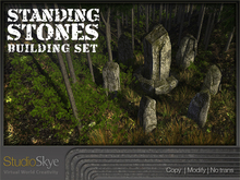 Skye Standing Stones Building Set Summer & Winter