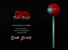Dark Secrets - Full Perm Mesh Lollipop