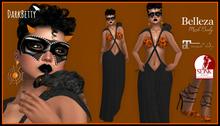 [DB] Halloween Formal Complete Outfit with Mask, Heels, Jewelry, Pet Rat, Maitreya, Belleza, Slink