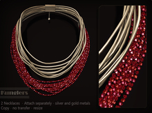 KUNGLERS - Malu necklaces - Ruby