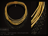KUNGLERS - Malu necklaces - Onyx