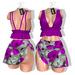 *** Harmonia Sally Pink Floral Outfit - Maitreya Slink Freya