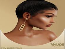 [RHUDE] Tia Earrings Fatpack B
