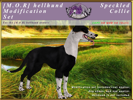 *E* Hellhund Modification Set [BOXED] Speckled Collie