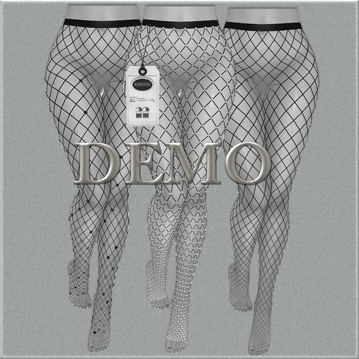 Baboom*DEMO-Heart Pantyhose-//HUD