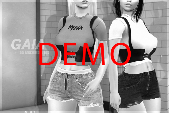 Gaia - Equal10 t-shirt shorts DEMO