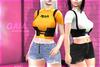 Gaia - Distressed Shorts FULLPACK