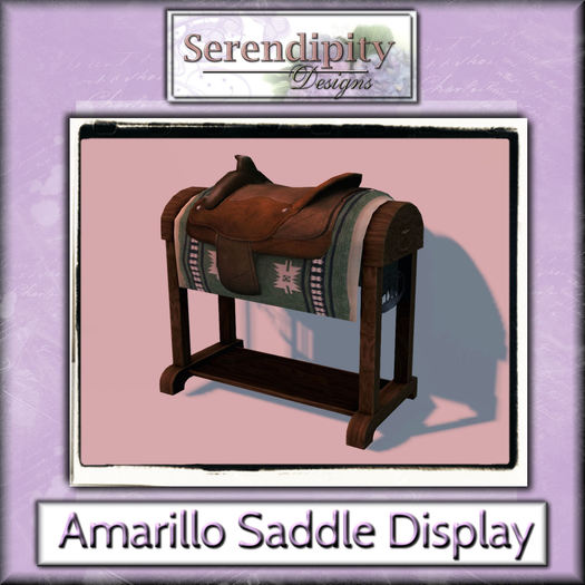 Serendipity Designs - Amarillo Saddle Display