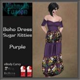 ~*MF*~ Boho Dress - Sugar Kitties -  Purple