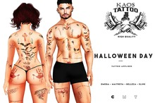KAOS HALLOWEEN DAY TATTOO