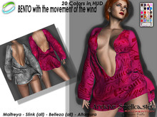 bag DEMO Dress Xena BENTO W/CH *Arcane Spellcaster* Ak-C.