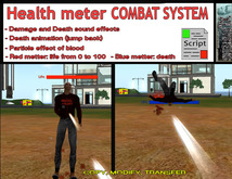 Health Meter combat system
