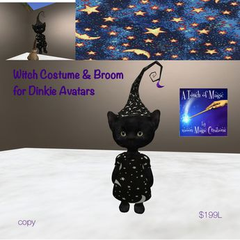 Dinkie Witch Costume for Dinkie Avatars-Box