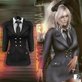 Valentina E. Bridget Dress Black