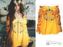[Aleutia] Maria Dress (Maitreya) Russet Orange