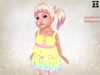 Summer tank dress   buttercup