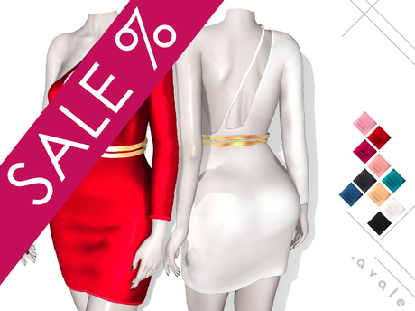 AVALE Georgia - Mesh Dress - Maitreya, Belleza, Slink, TMP