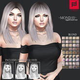 -FABIA- Mesh Hair   < Monday> Blond