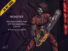 -DNC- Monster - Male Bento Pose