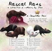 JIAN Rascal Rats 1. Shoulder Companion BOX RARE