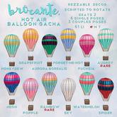 brocante. hot air balloon gacha / fuchsia