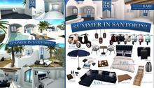 SAYO - Summer in Santorini - Scooter (Blue) - COMMON