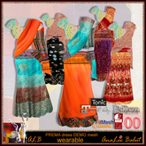 ALB PREMA saree dress wearable DEMO MESHes - by AnaLee Balut - ALB DREAM FASHION