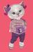 Dinkies violet hoodie combo 001