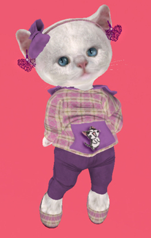 Lexxie Dinkies Violet Hoodie Combo