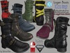 LOGAN Male Men Boots- Mesh - Slink, Aesthetic, Signature Gianni - Geralt, Belleza Jake