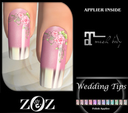 {ZOZ} Wedding Tips Polish (Maitreya) (wear)