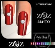 {ZOZ} Metal Heart 2 Polish (ZOZ BENTO) (wear)
