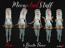 ::MeowAndStuff:: Rose Bento Poses