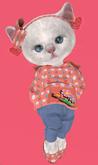 Lexxie Dinkies Peach Hoodie Combo